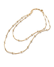 The Commuter Long Wrap Necklace - CELESTE SOL Jewelry