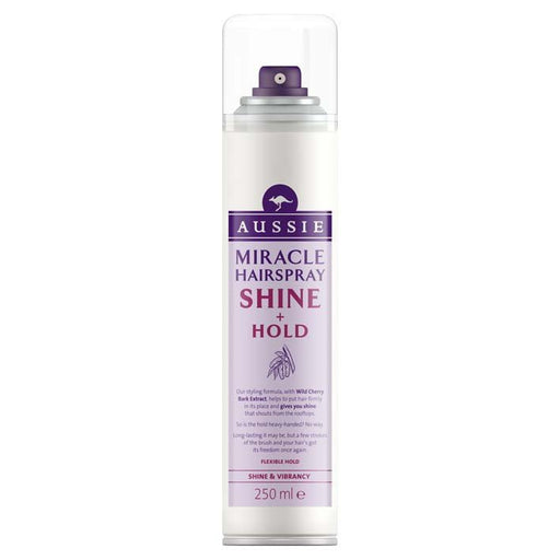 Aussie Miracle Hairspray Shine & Hold