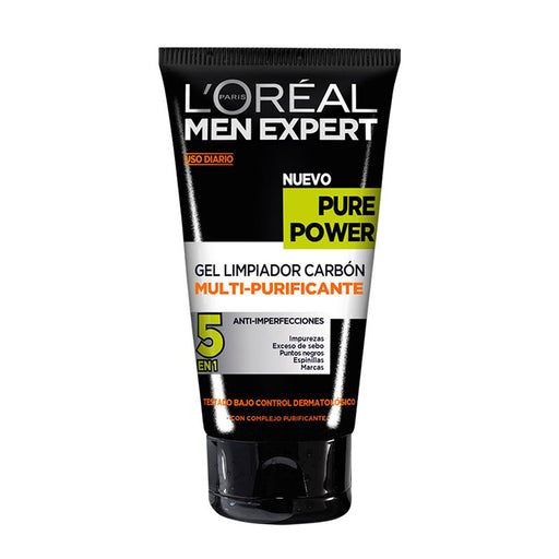 L'Oreal Pure Power Gel Limpiador Carbón Multi-purificante