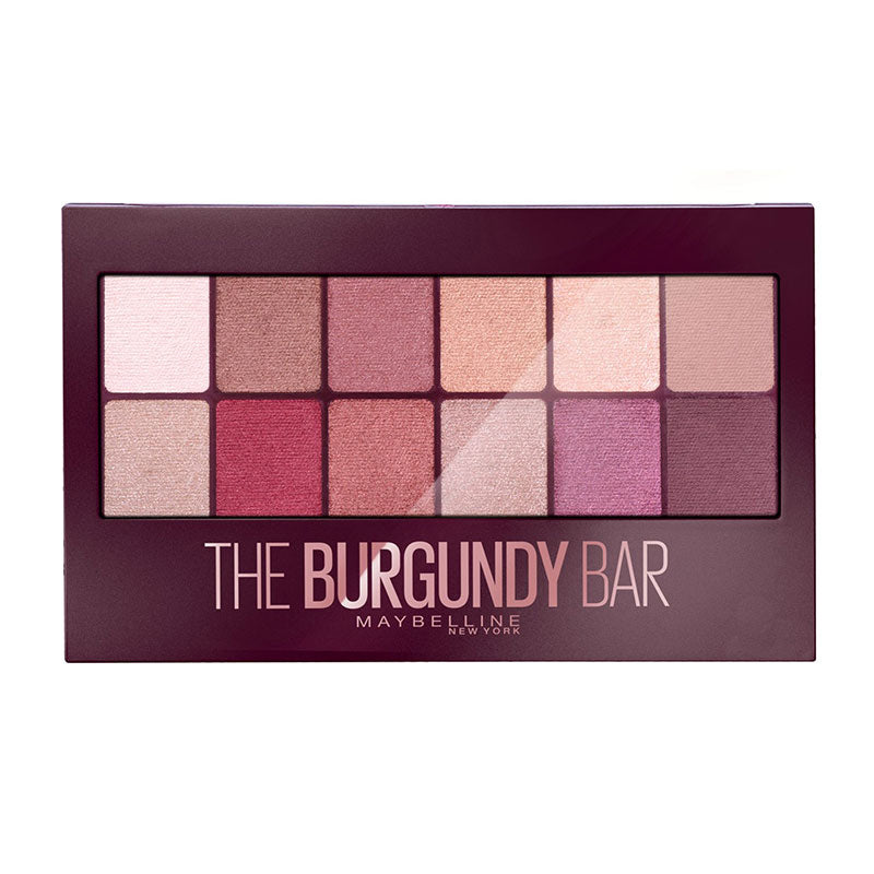 Maybelline The Burgundy Bar Paleta de Sombras