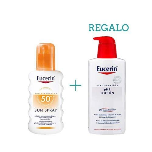 Eucerin Sun Spray Piel Sensible