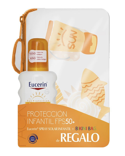 Eucerin Spray Kids Sun + Bikini Bag