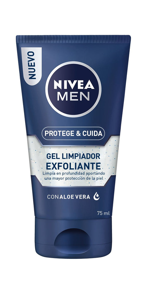 Nivea For Men Gel Limpiador Exfoliante
