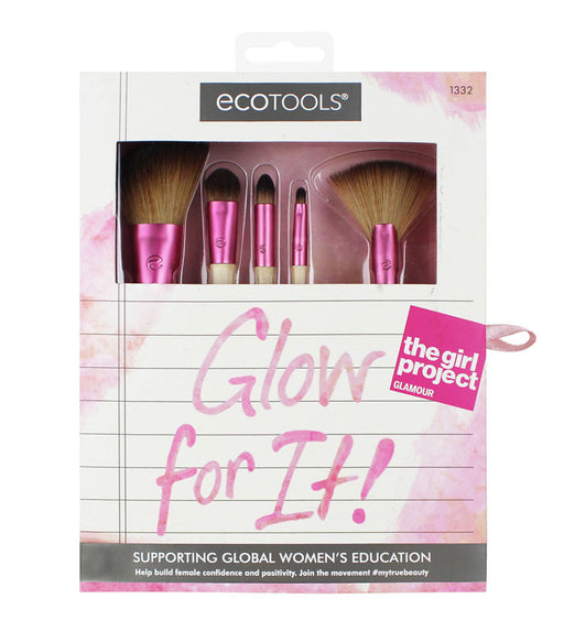 Ecotools Glow For It Set De Brochas
