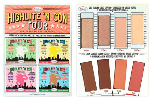The Balm Highlite 'N Con Tour Paleta Contorno E Iluminadores