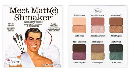 The Balm Meet Matt(e) Shmaker Paleta de Sombras