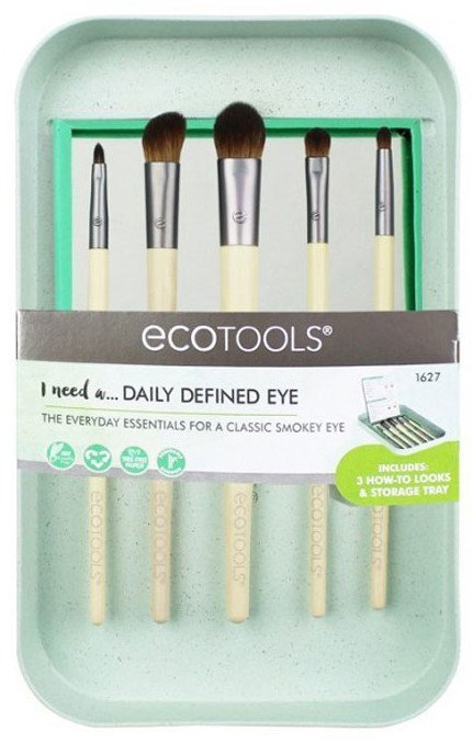 Ecotools Daily Defined Eye Kit Set de Brochas