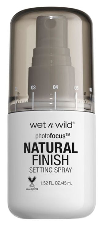 Wet N Wild Spray Fijador Natural Finish Photofocus