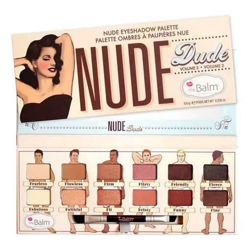 The Balm Nude Dude Palette Volumen 2
