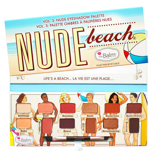 The Balm Nude Beach Paleta de Sombras