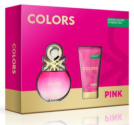 Benetton Color Pink Estuche