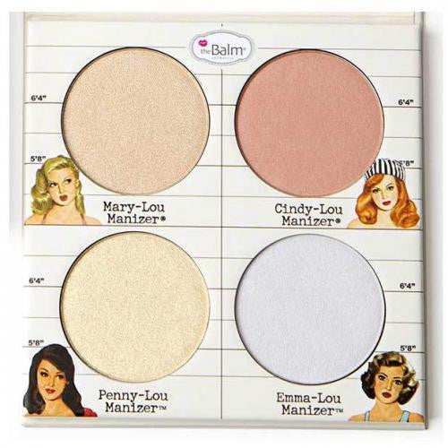 The Balm Paleta de Iluminadores The Lou Manizer's Quad