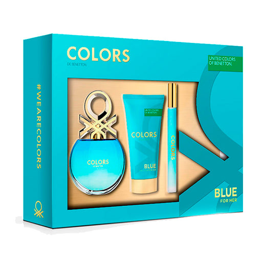 Benetton Colors Blue Estuche