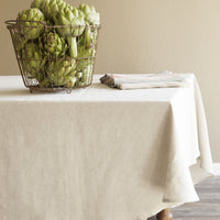 European Linen Tablecloth