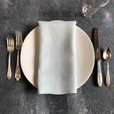 European Linen Napkins in Dove