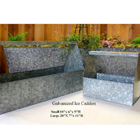 Galvanized Thirst Caddies