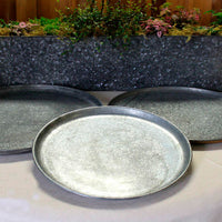 Galvanized Round Trays