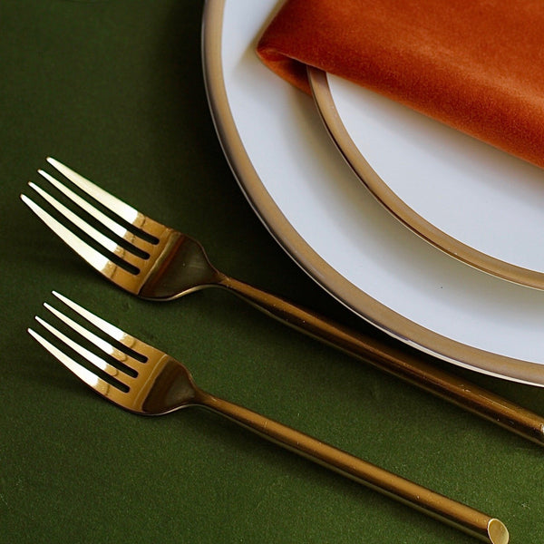 Brushed Gold Flatware