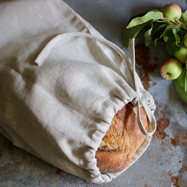 European Linen Bread Bag