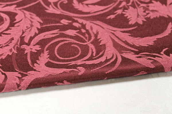 Damask - Melrose Burgundy