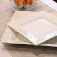 White China Serving Pieces