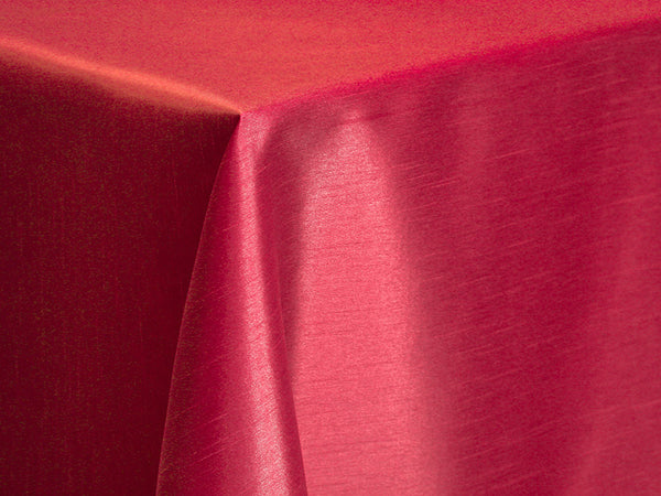 Dupioni Table Linens - Merlot