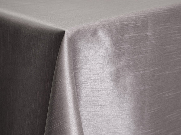 Dupioni Table Linens - Slate