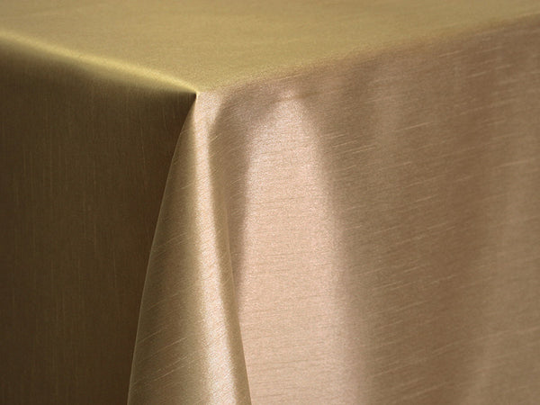 Dupioni Table Linens - Chocolate