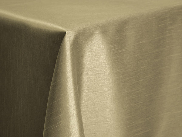 Dupioni Table Linens - Bamboo