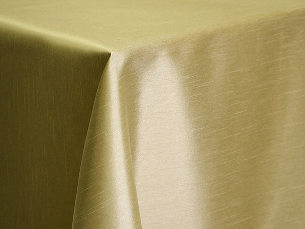 Dupioni Table Linens - Soft Gold