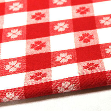 Linen Check - Red