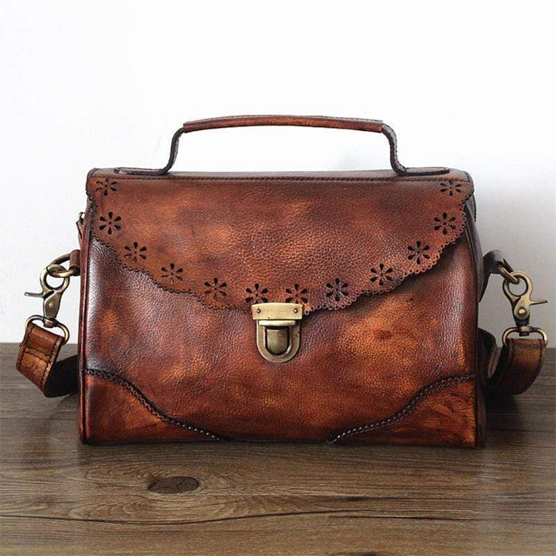 Tanned Leather Handbag