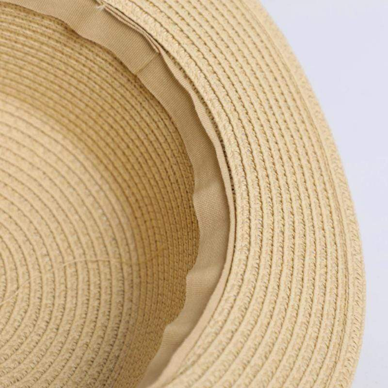 Obangbag 2019 Women Summer Beach Straw Hat