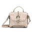 Obangbag Beige Vintage Oil Leather Luxury Handbags Retro Shoulder Bag