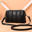Obangbag Black 1 Women Vintage Cute Mini Roomy Professional Soft Leather Crossbody Bag Shoulder Bag