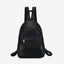 Obangbag black Hot Sale Large Capacity Multi Function Pockets Vintage Leather Backpack