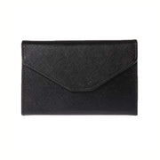 Obangbag Black Leather Vintage Wallet Ticket Holder