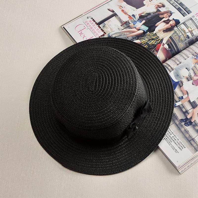 Obangbag Black / M 2019 Women Summer Beach Straw Hat