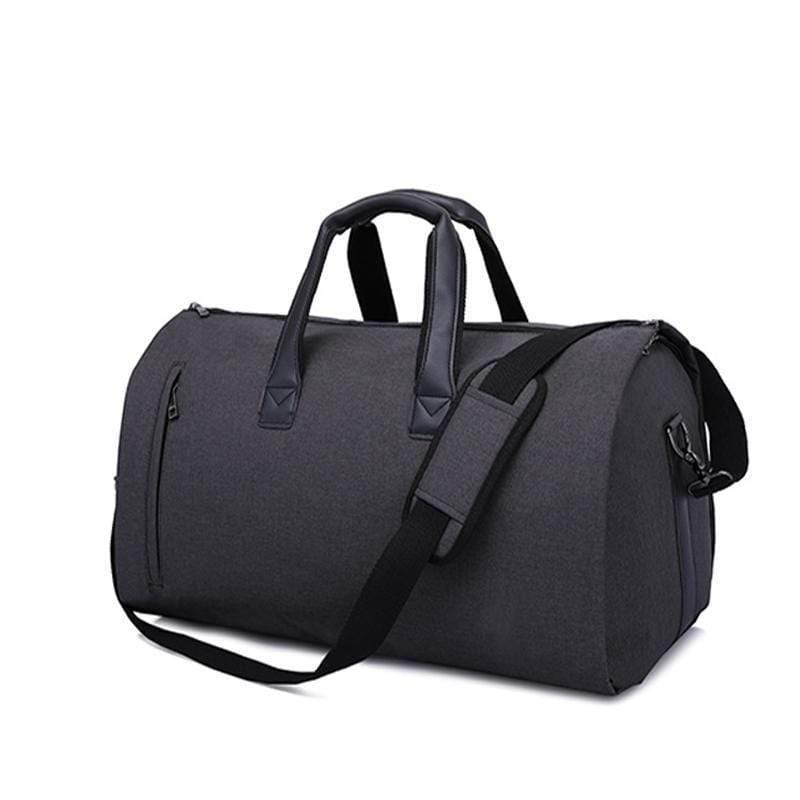 Obangbag Black Multifunction Layered Travel Bag Business Trip Luggage Bag Designed for Suit