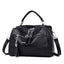 Obangbag black Multifunctional Large Capacity Fashion Shoulder Bag Messenger Bag