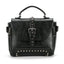 Obangbag Black Vintage Oil Leather Luxury Handbags Retro Shoulder Bag