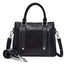 Obangbag Black Women Simple Vintage Big Large Capacity PU Leather Handbag Crossbody Bag