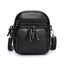 Obangbag Black Women Vintage Cute MIni Multi Layers Roomy Lightweight Leather Crossbody Bag Shoulder Bag