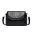 Obangbag Black Women Vintage Retro Chic Stylish Crocodile Leather Crossbody Bag Shoulder Bag
