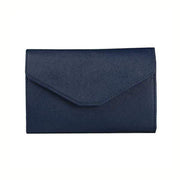Obangbag Blue Leather Vintage Wallet Ticket Holder