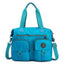 Obangbag Blue Women Large Capacity Travel Handbag Anti Splashing Water Ladies Shoulder Bag