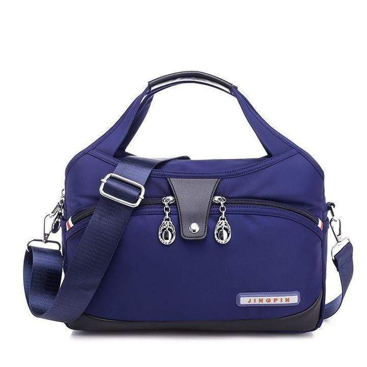Obangbag blue Women Oxford Elegant Large Capacity Satchel Bag