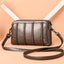 Obangbag Bronze 1 Women Vintage Cute Mini Roomy Professional Soft Leather Crossbody Bag Shoulder Bag