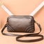 Obangbag Bronze Women Vintage Cute Mini Roomy Professional Soft Leather Crossbody Bag Shoulder Bag
