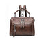 Obangbag Brown 2 Women Vintage Lightweight Daily Large Capacity Multifunction Multi Pockets Leather Handbag Crossbody Bag Backpack